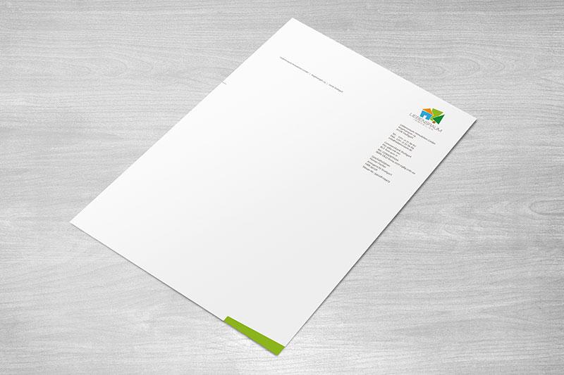 Liebensraum-Briefpapier