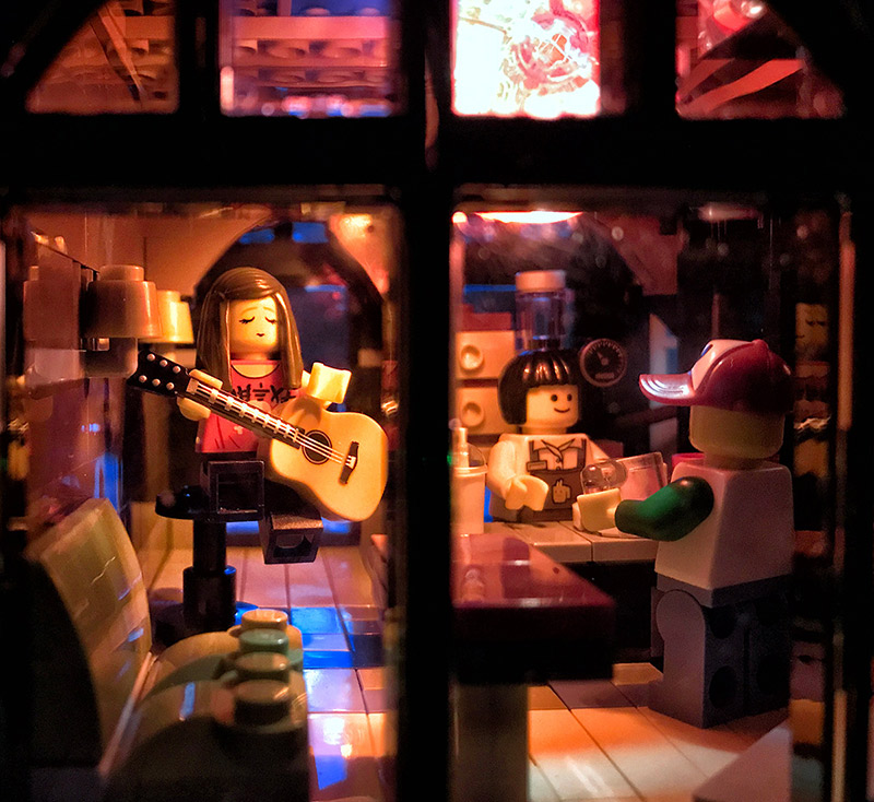 toy photography lego music club