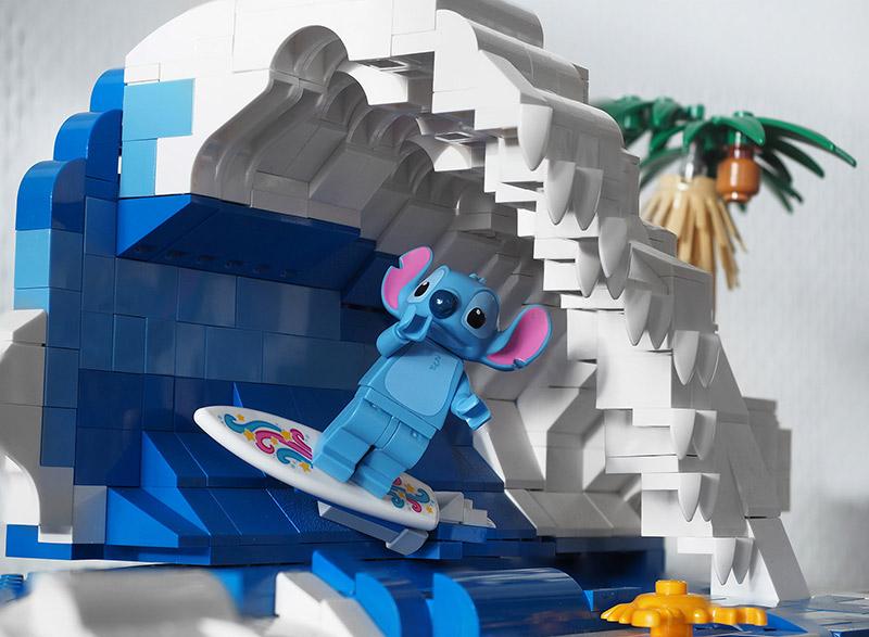 toy photography lego stitch 2