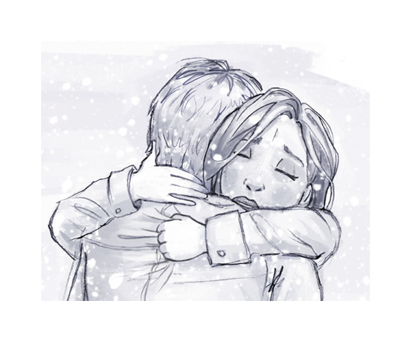 tobiarts-a-hug-for-christmas illustration