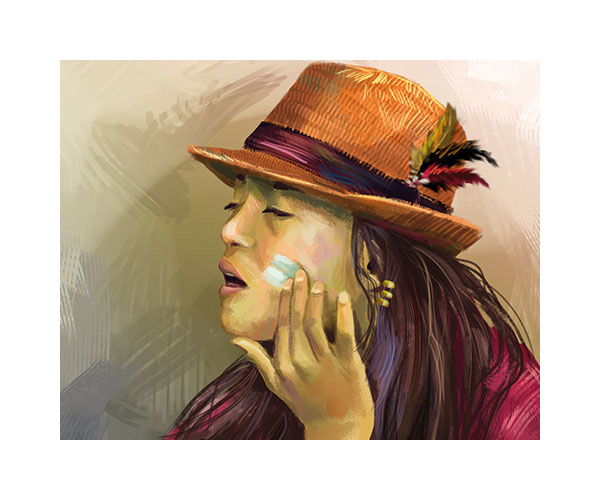 tobiarts-girl-with-hat-illustration