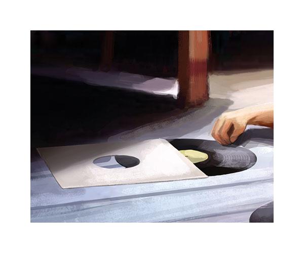 tobiarts-grammophon-painting