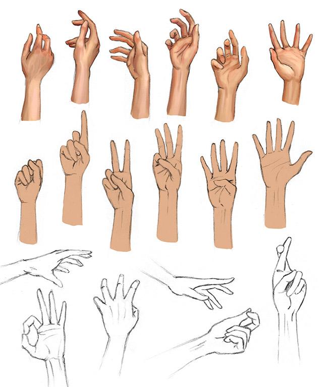 sketch-hand-posen