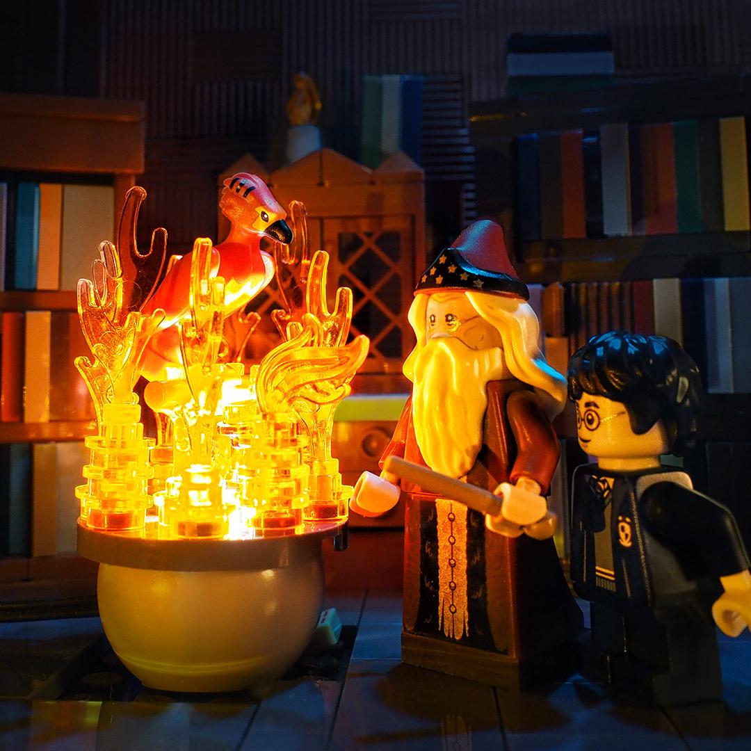 Lego HP Fawkes
