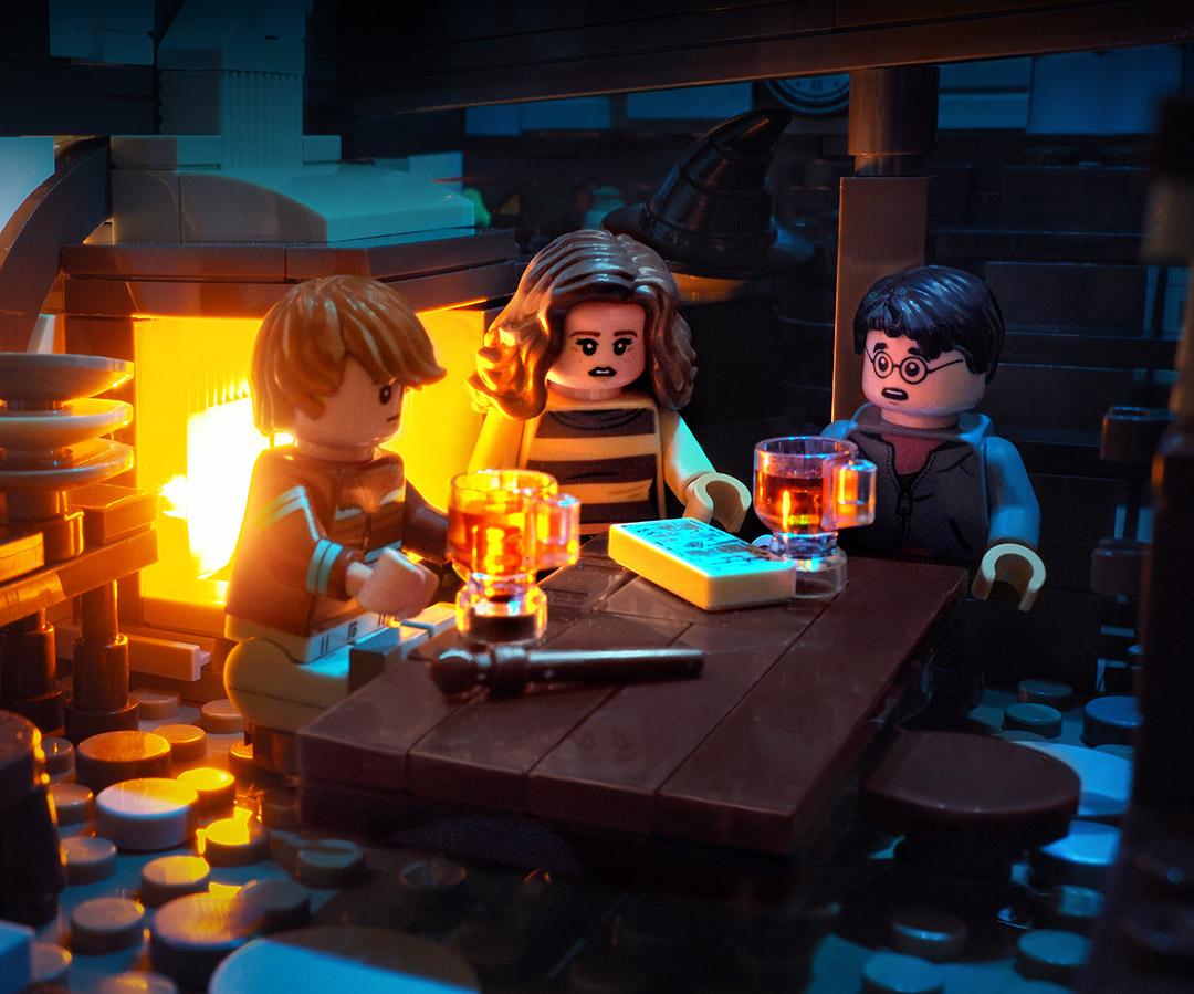 Lego HP Hogsmeade